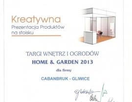 Caban_Bruk_nagroda_prezentacja_produktow_HomeAndGarden2013