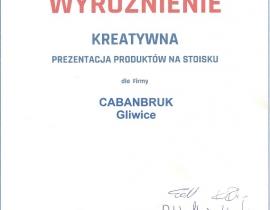 CabanBruk-targi-nagroda